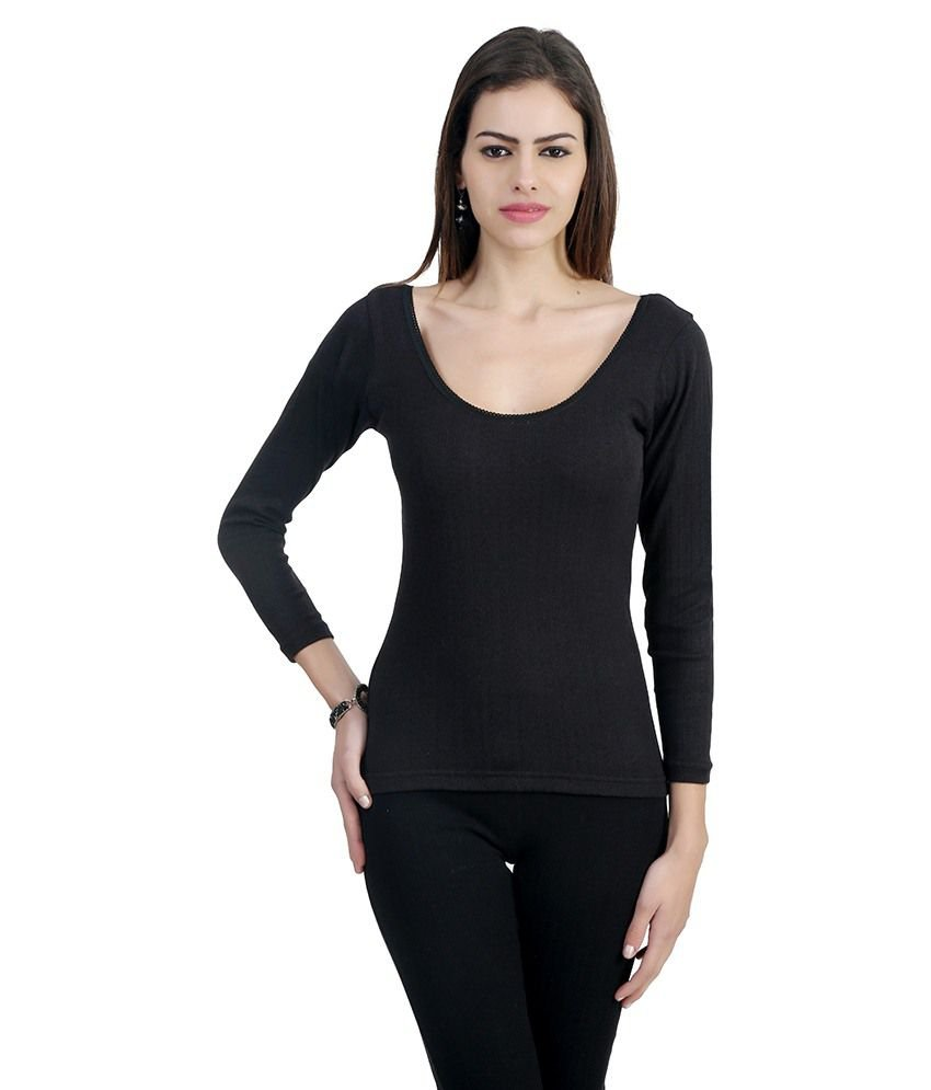 Warm zone black wool thermals sdl436029932 1 8c64b