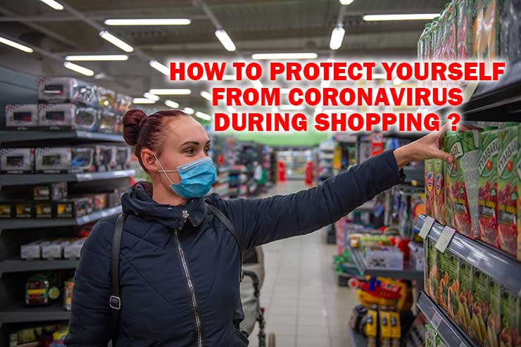Protect shopping cornovirus