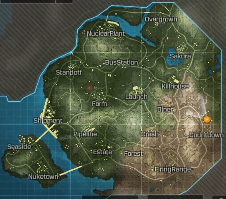 Call of duty mobile maps