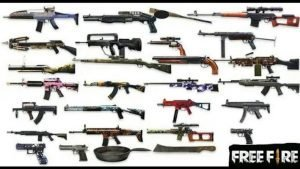 Weapons on free fire 300x169