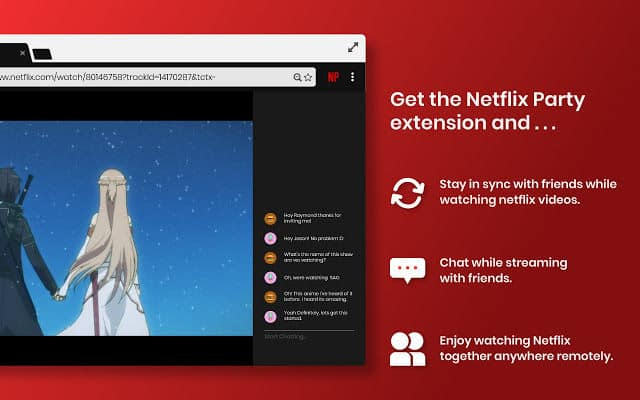 Can you use netflix party anywhere